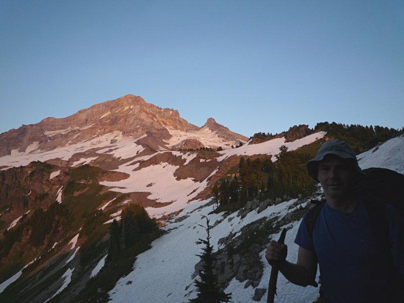 Mark on Yocum Ridge
